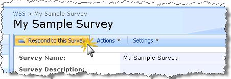 ResponseSurvey